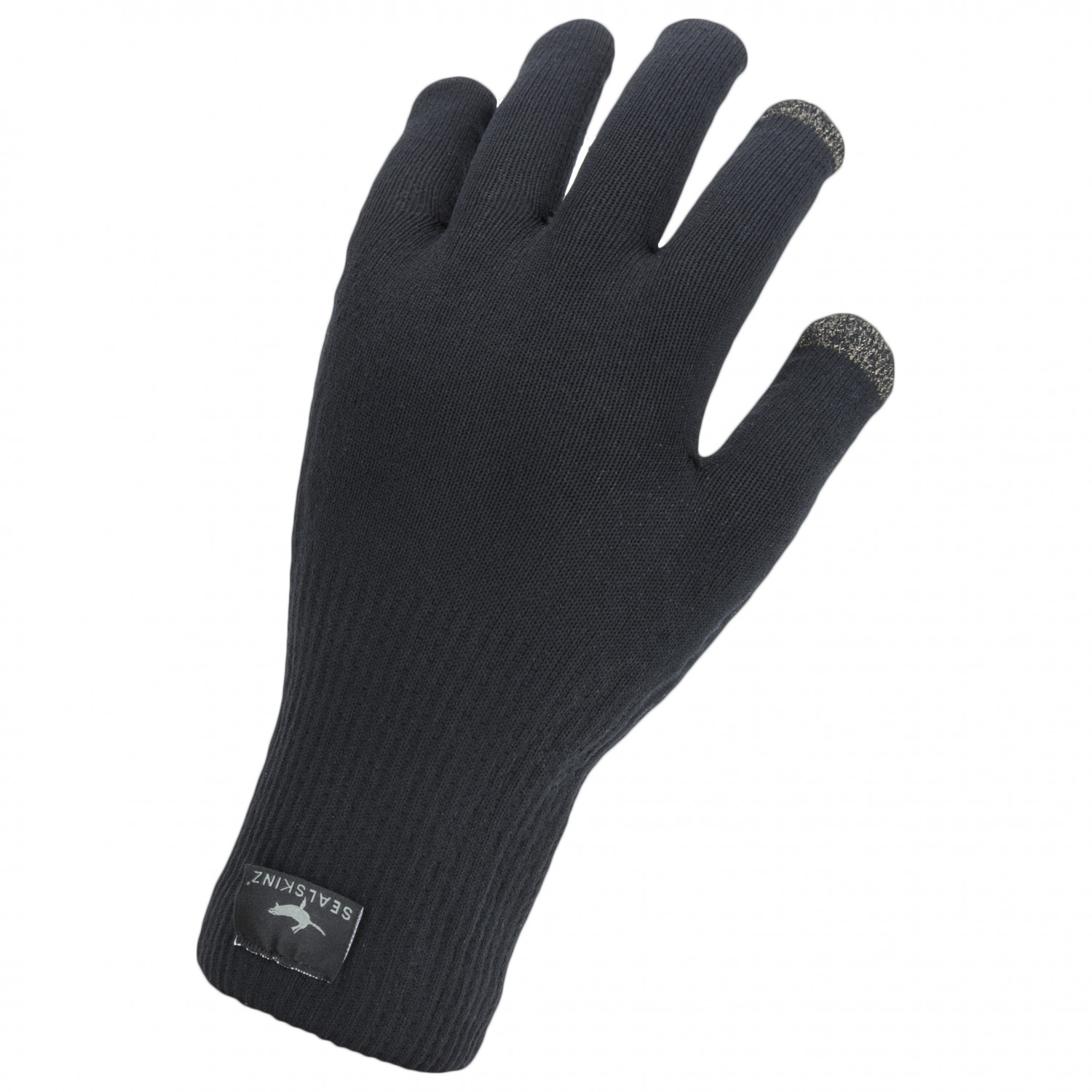 Sealskinz Ultra Grip Unisex Gauntlet Waterproof Outdoor Gloves Black