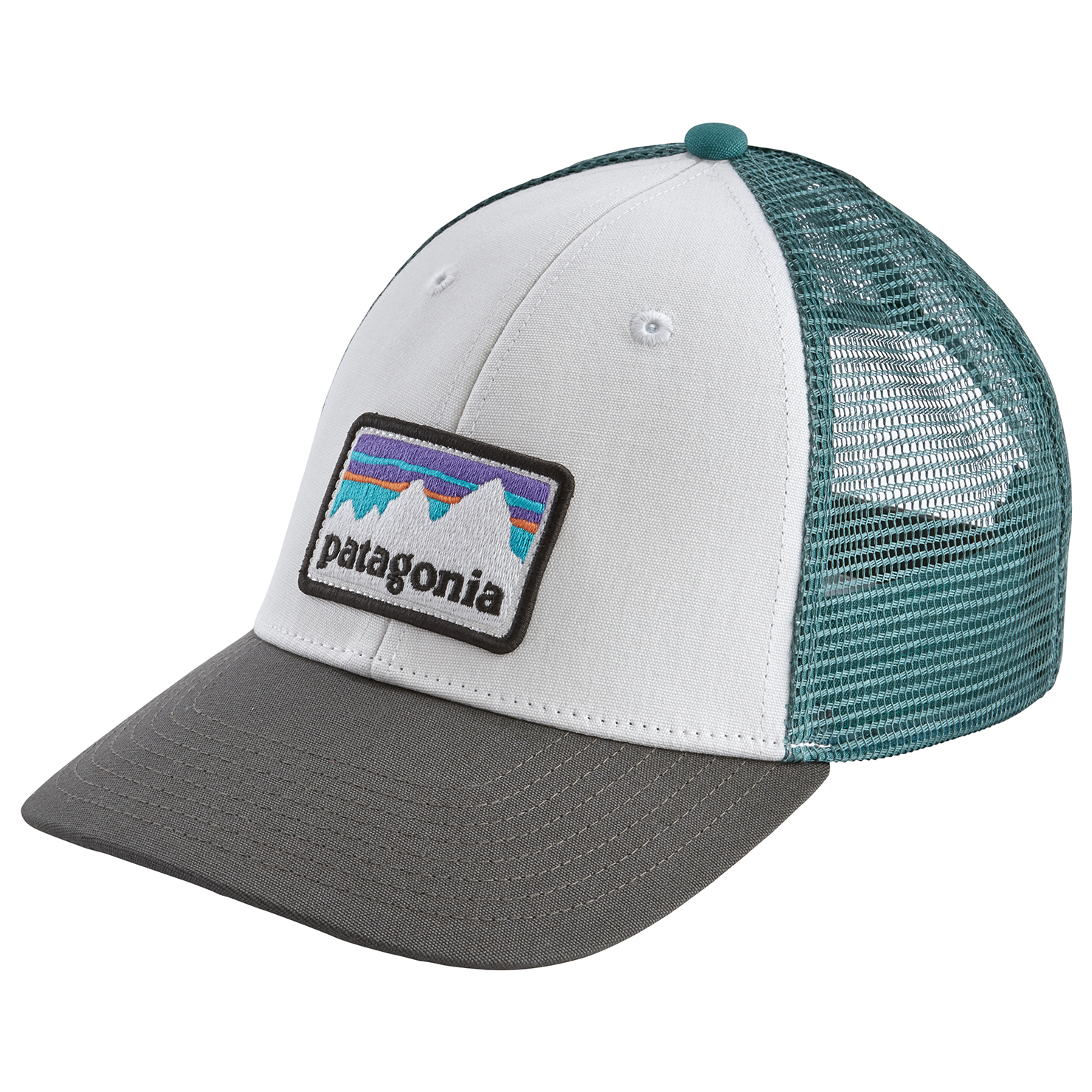 best loved b8d6a 937ae Patagonia - Shop Sticker Patch Lopro Trucker Hat - Cap