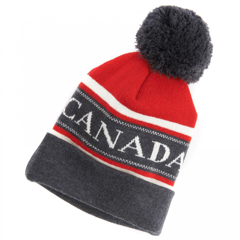 ec46fcab891 Canada Goose Merino Logo Pom Hat - Beanie Men s