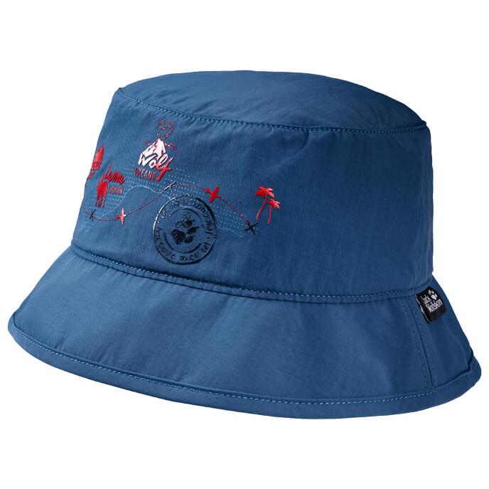 Jack Wolfskin Supplex Journey Hat Kids Hut Ocean Wave | S
