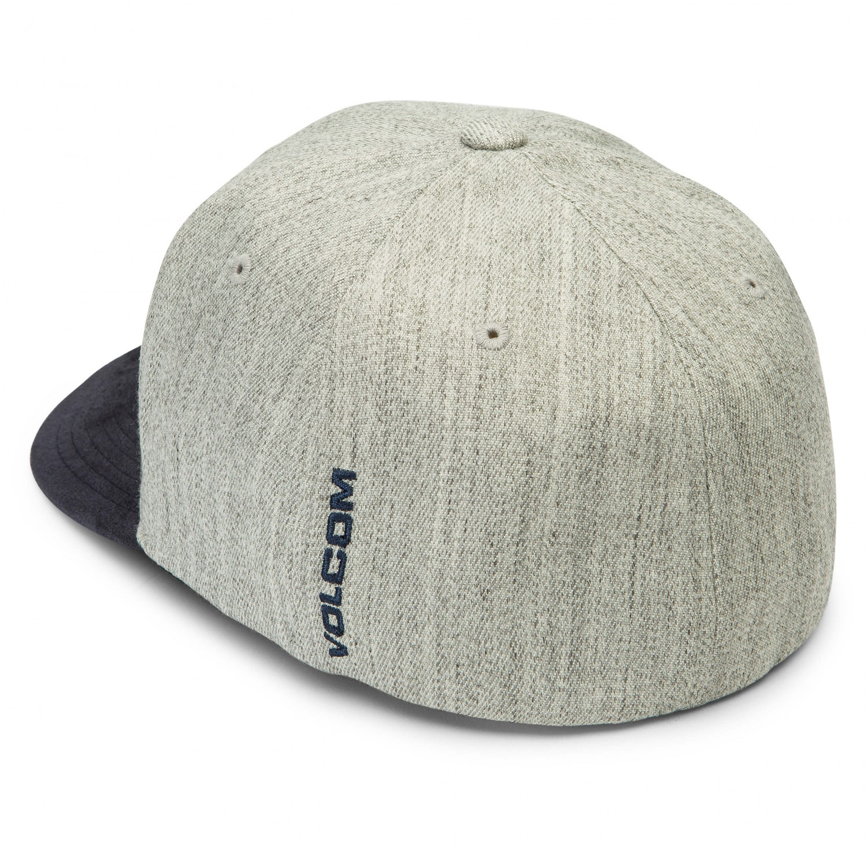 Stone Cap Detail : Volcom full stone heather xfit acryl cap men s buy