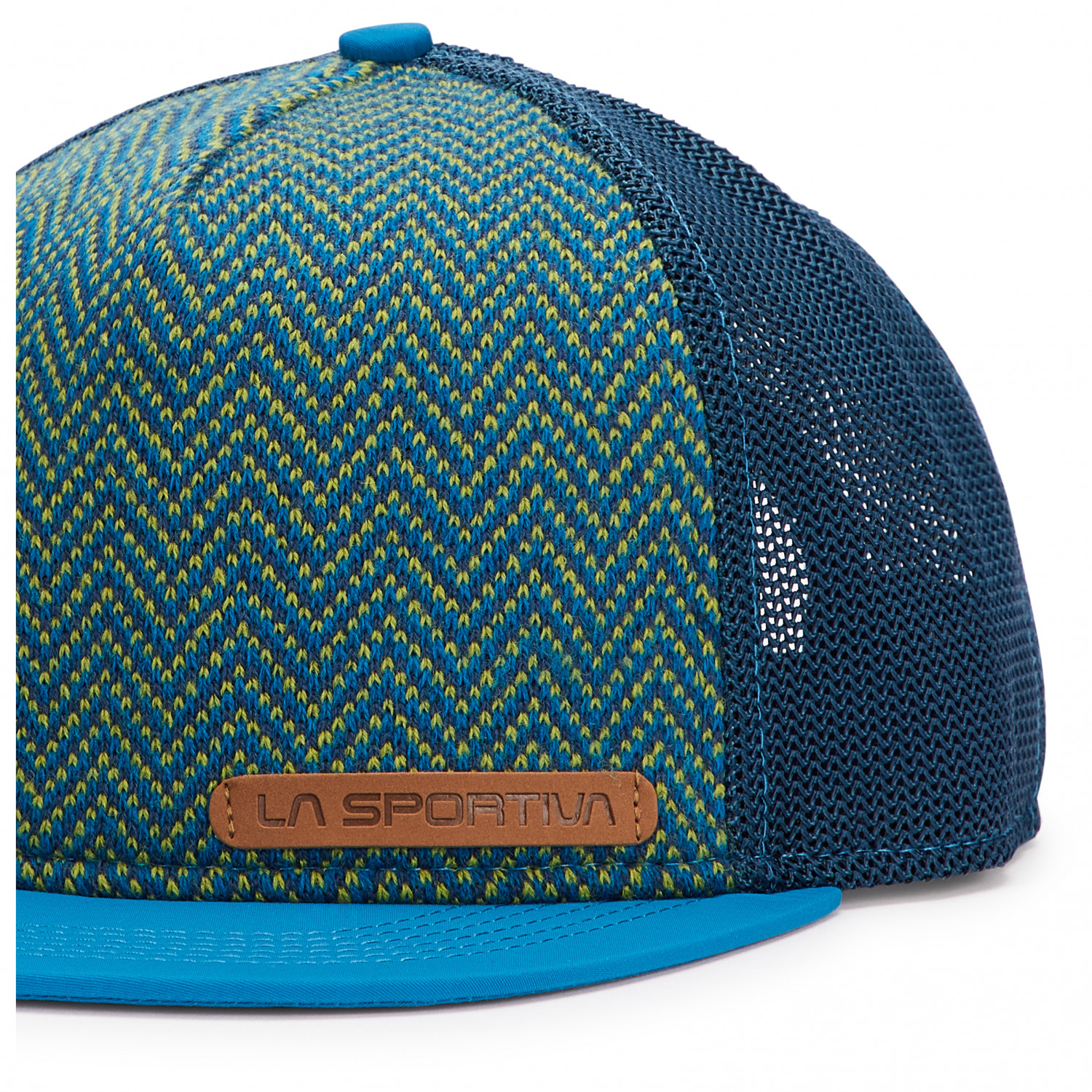 77cc73022 La Sportiva - Moose Trucker Hat - Cap - Cloud / Emerald | L