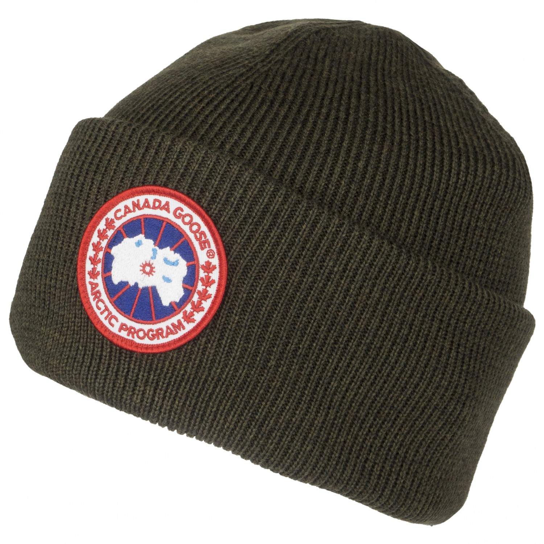 242de382167 Canada Goose Merino Wool Beanie Green