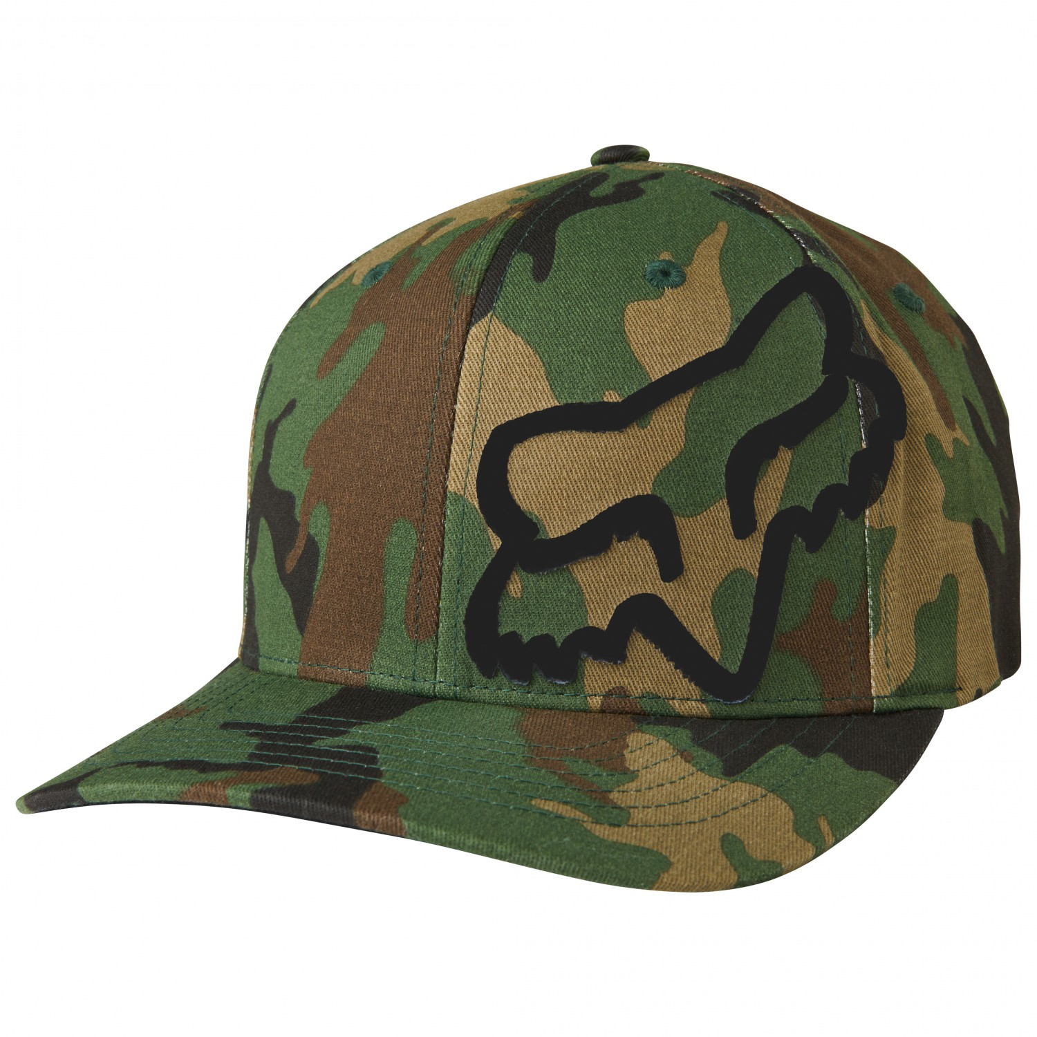 fox racing military hat xl