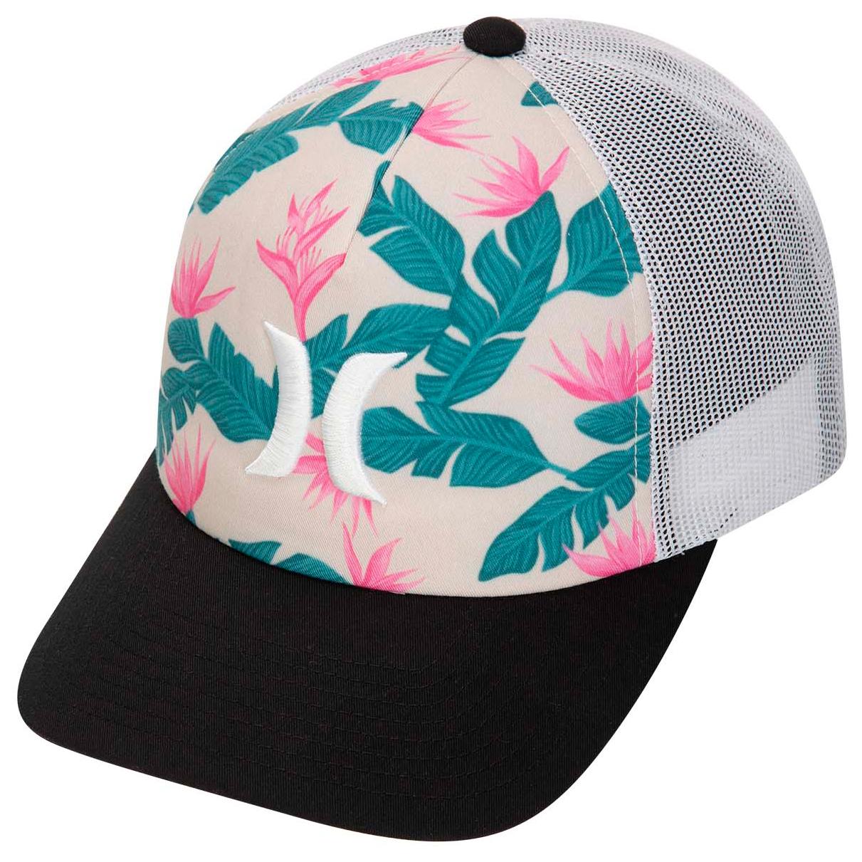 4ac2c6623 Hurley - Women's Hanoi Icon Trucker Hat - Cap - Crimson Tint   One Size