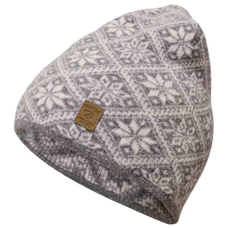 Ivanhoe of Sweden Women's Elsie Hat Beanie Grey Marl | M