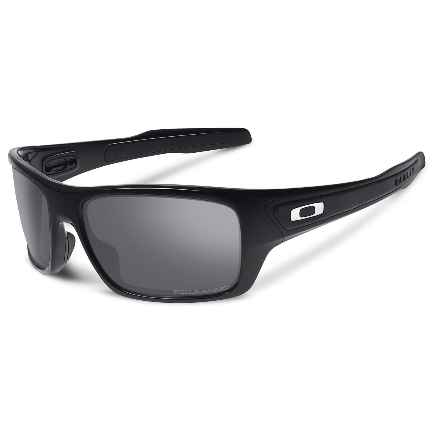 oakley turbine black iridium polarized sonnenbrille. Black Bedroom Furniture Sets. Home Design Ideas