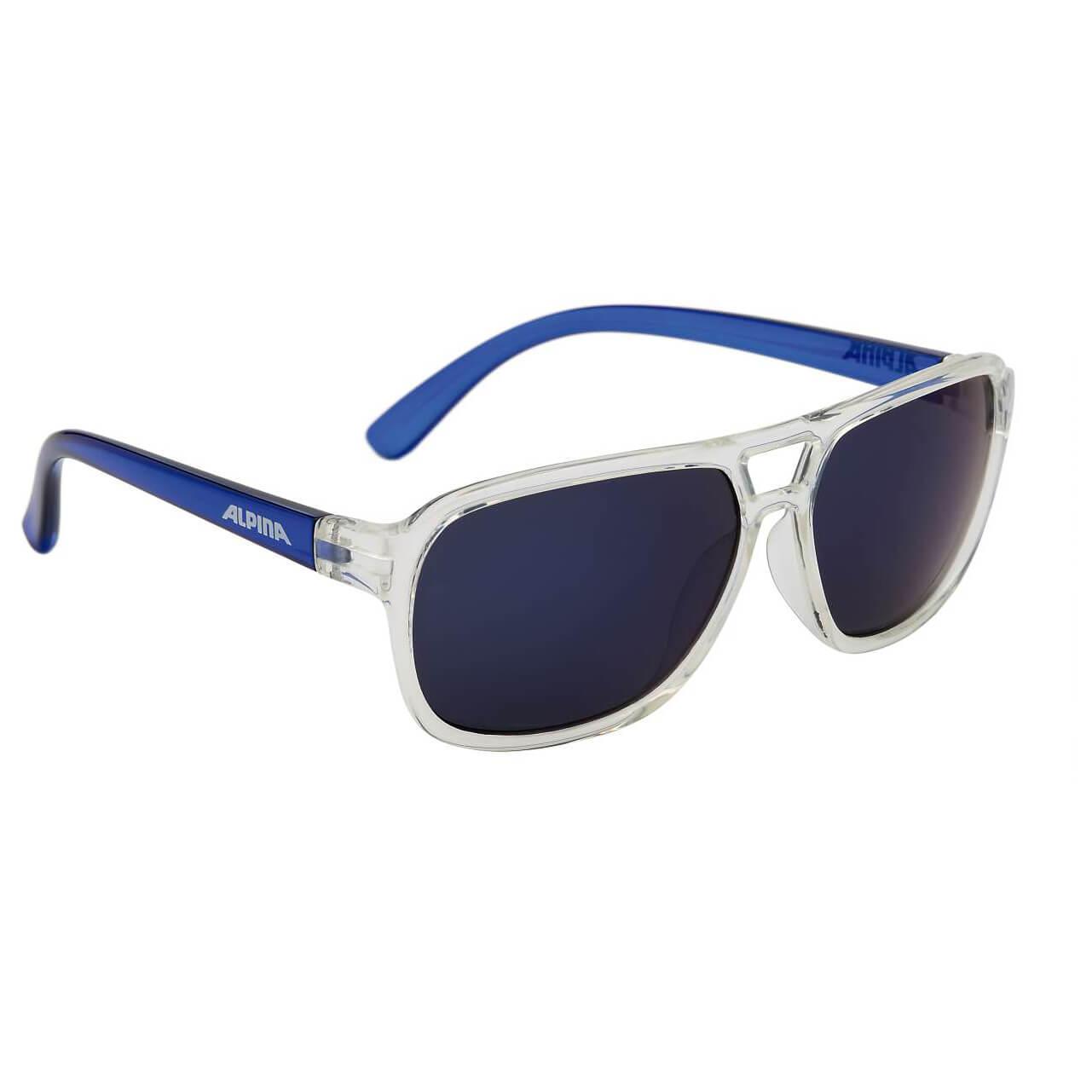 Alpina Kinder Yalla Sonnenbrille, Clear-Blue