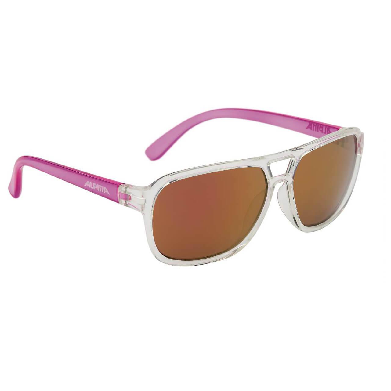 Alpina Yalla Ceramic Mirror Pink S3 Sunglasses Kids