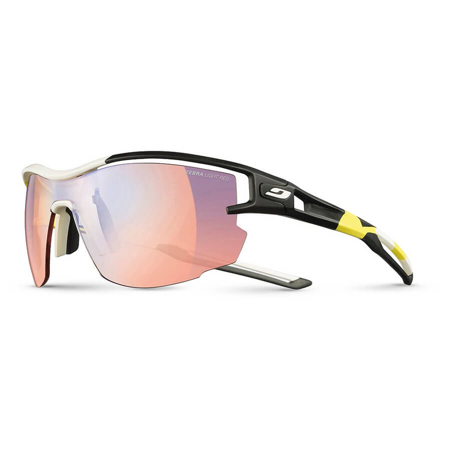 Julbo AERO ZEBRA LIGHT ROT Sonnenbrille, dunkelblau,Größen: L