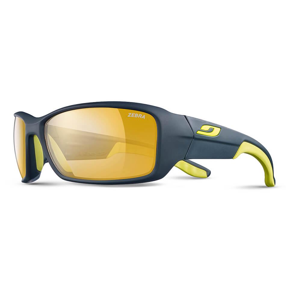 Julbo - Run Zebra - Cycling glasses - Dunkelblau   Gelb   Zebra Gelb Braun 26d6c163b21d