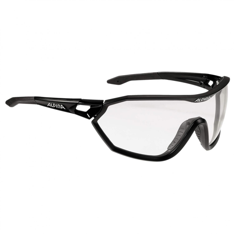 Alpina Sportbrille »S-Way VL+«, schwarz, schwarz