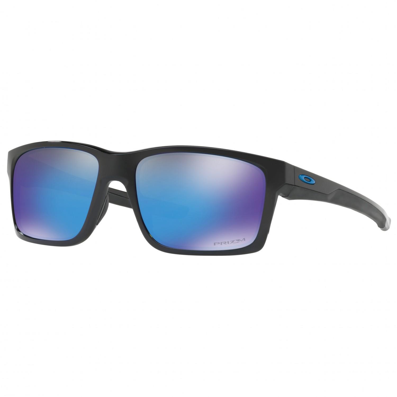 Oakley Mainlink Prizm >> Oakley Mainlink Prizm S3 Vlt 12 Sunglasses Polished Black Prizm Sapphire S3 Vlt 12