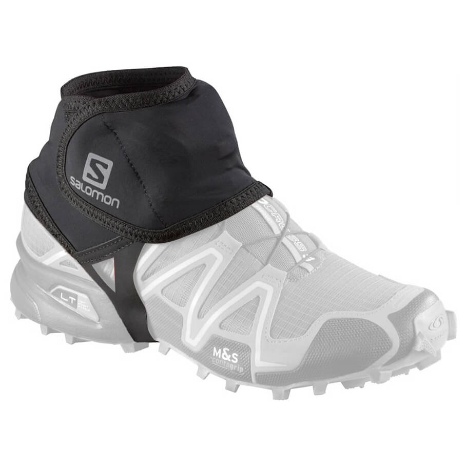 Salomon - Trail Gaiters Low - Gamaschen Black