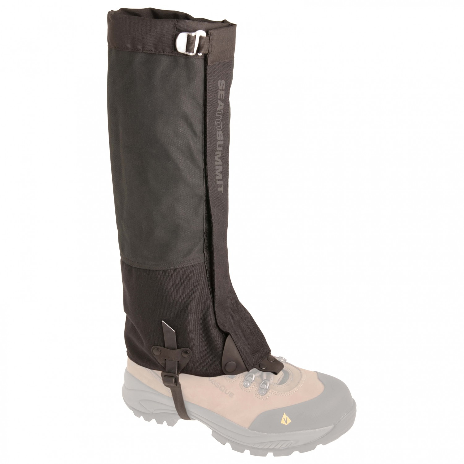 Sea to Summit - Quagmire Canvas Gaiters - Gamaschen Black