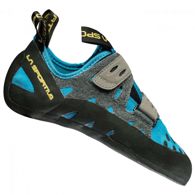 La Sportiva Tarantula Blau, Damen Kletterschuh, Größe EU 38 - Farbe Turquoise Damen Kletterschuh, Turquoise, Größe 38 - Blau