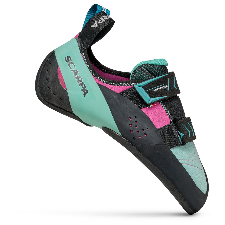 low priced 3550a 2b5f2 Scarpa - Women's Vapor V - Climbing shoes - Dalhia / Aqua   35,5 (EU)