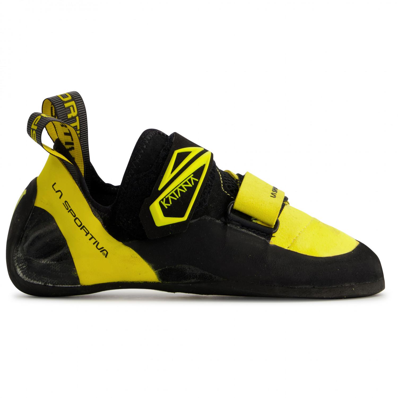 Yellow//Black La Sportiva Katana Laces Climbing Shoes
