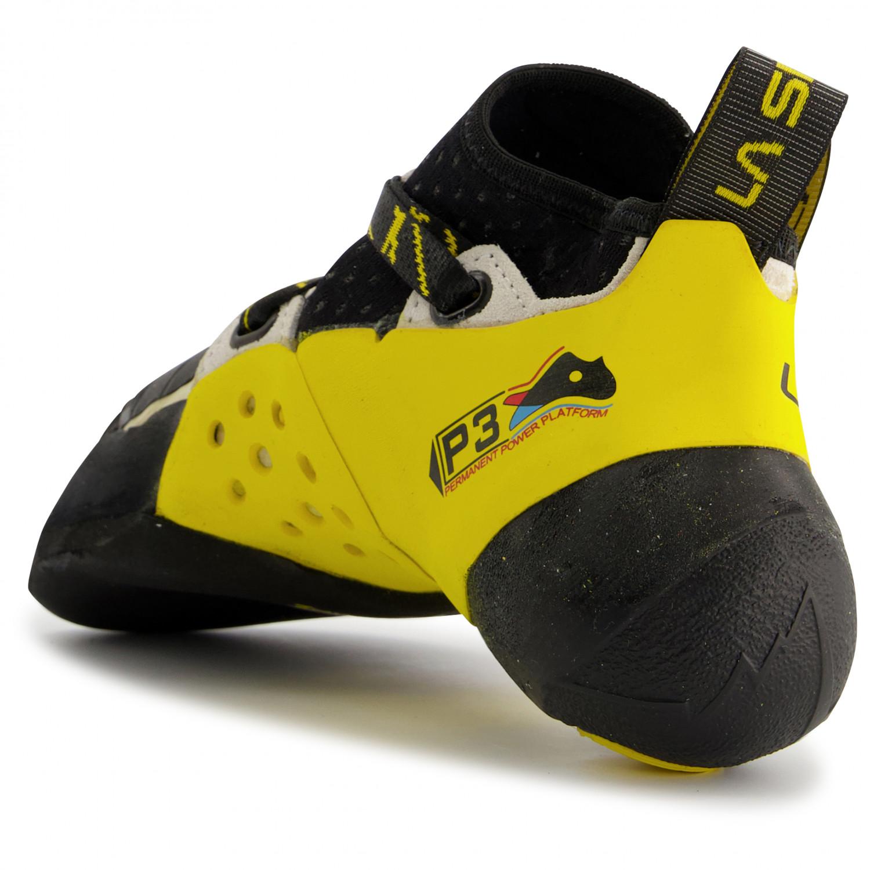 La Sportiva Solution yellow Kletterschuhe Boulderschuhe