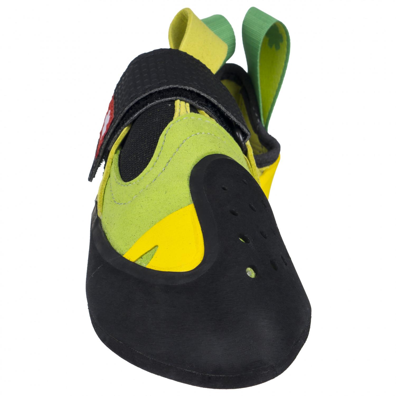 5b770ac5b05a2 Ocun - Oxi S - Kletterschuhe - Green / Yellow | 5 (UK)