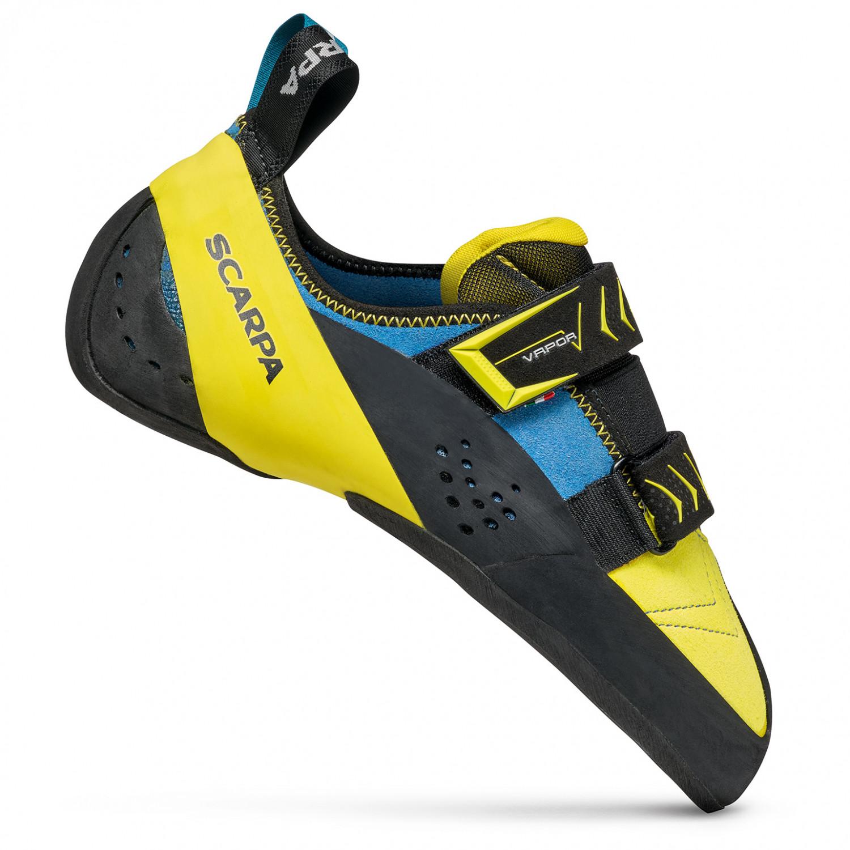 innovative design 7debe 7e71a Scarpa - Vapor V - Climbing shoes - Ocean / Yellow   39 (EU)