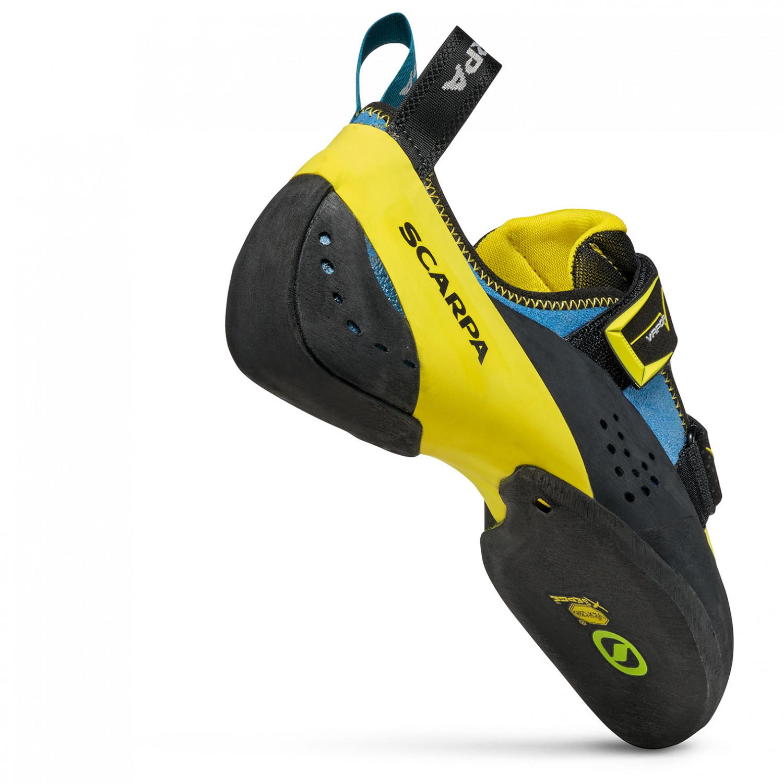 innovative design 6f4c7 eff38 Scarpa - Vapor V - Climbing shoes - Ocean / Yellow   39 (EU)