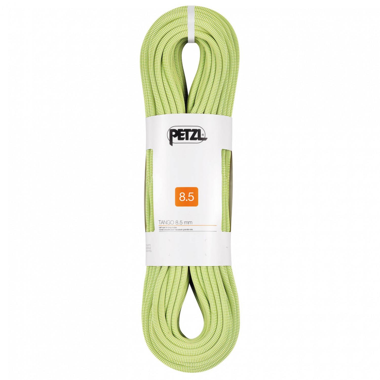 petzl - tango 8,5 - halbseil - gelb   50 m