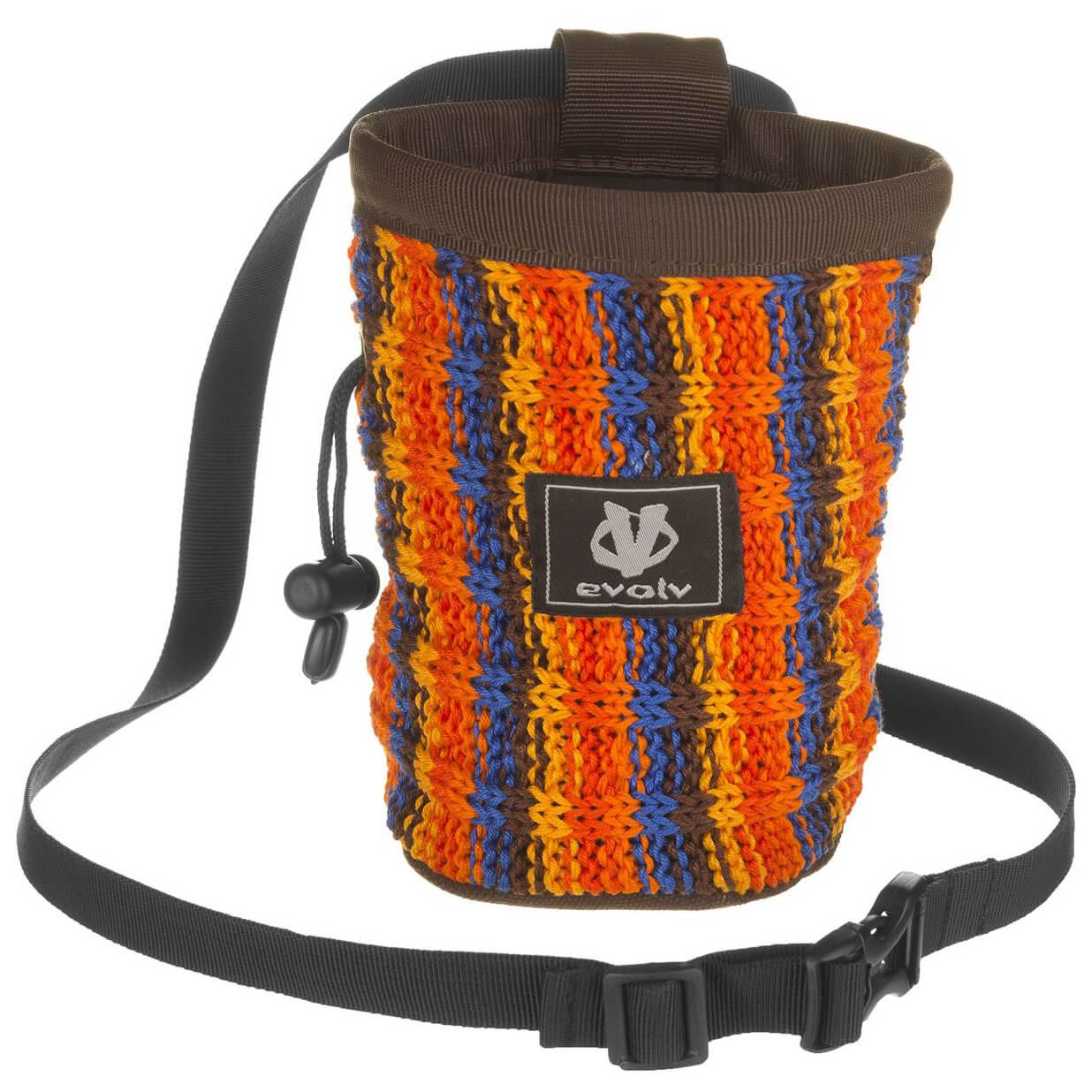 Evolv Knit Chalk Bag Buy online Alpinetrek.co.uk