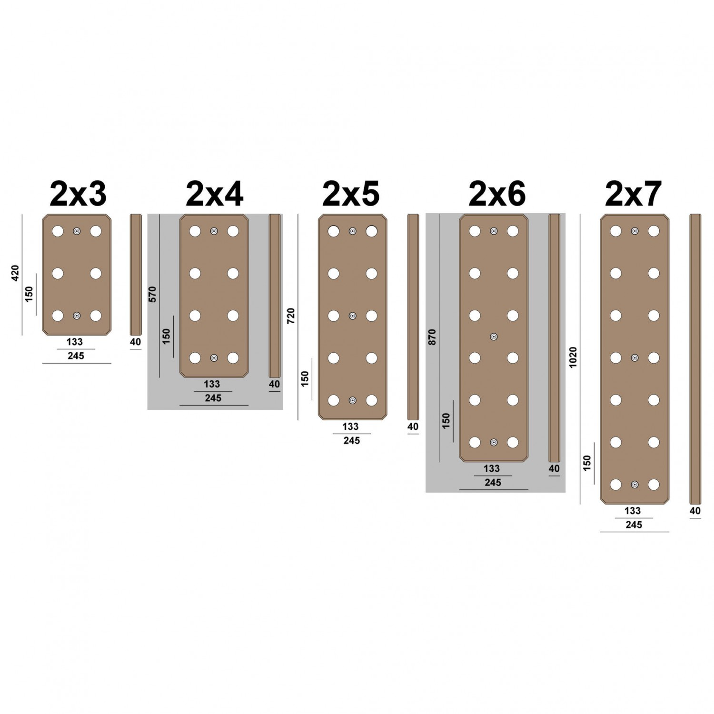 Pegboard Selber Bauen : antworks ant hill pegboard free uk delivery ~ Watch28wear.com Haus und Dekorationen