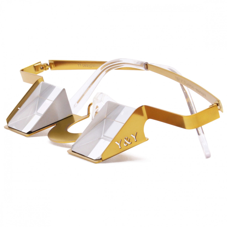 Y&Y Sicherungsbrille (Bordeaux rot) uvjMar