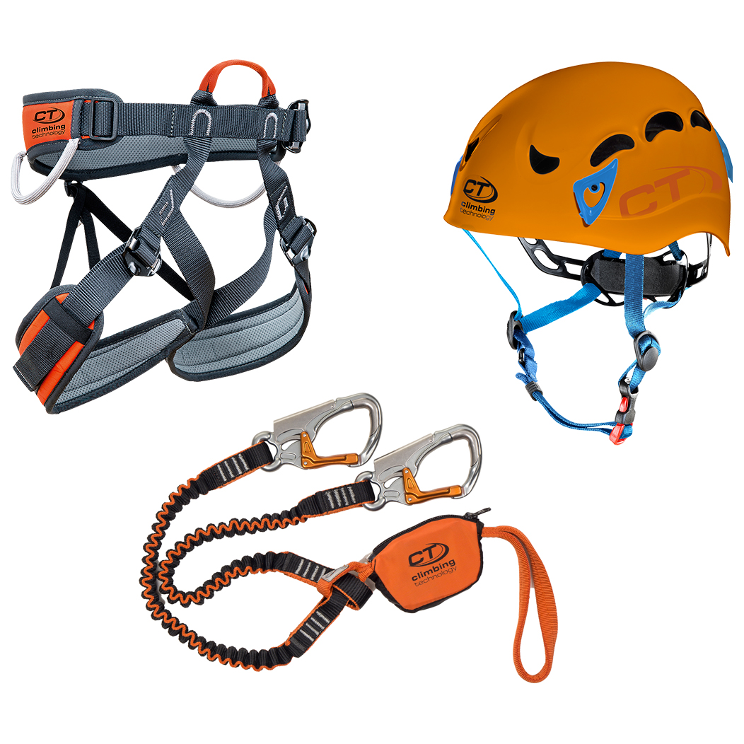 CT Climbing Technology Kit Ferrata Plus Galaxy set da ferrata