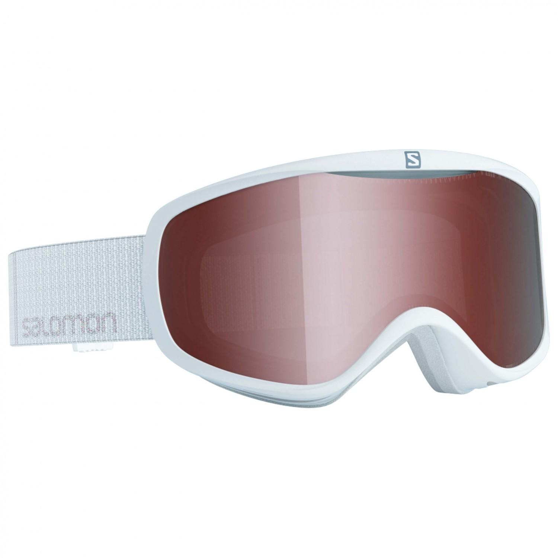 Salomon Women's Goggles Sense Access Skidglasögon White | One Size Lens: Tonic Orange S2 (VLT 22%)