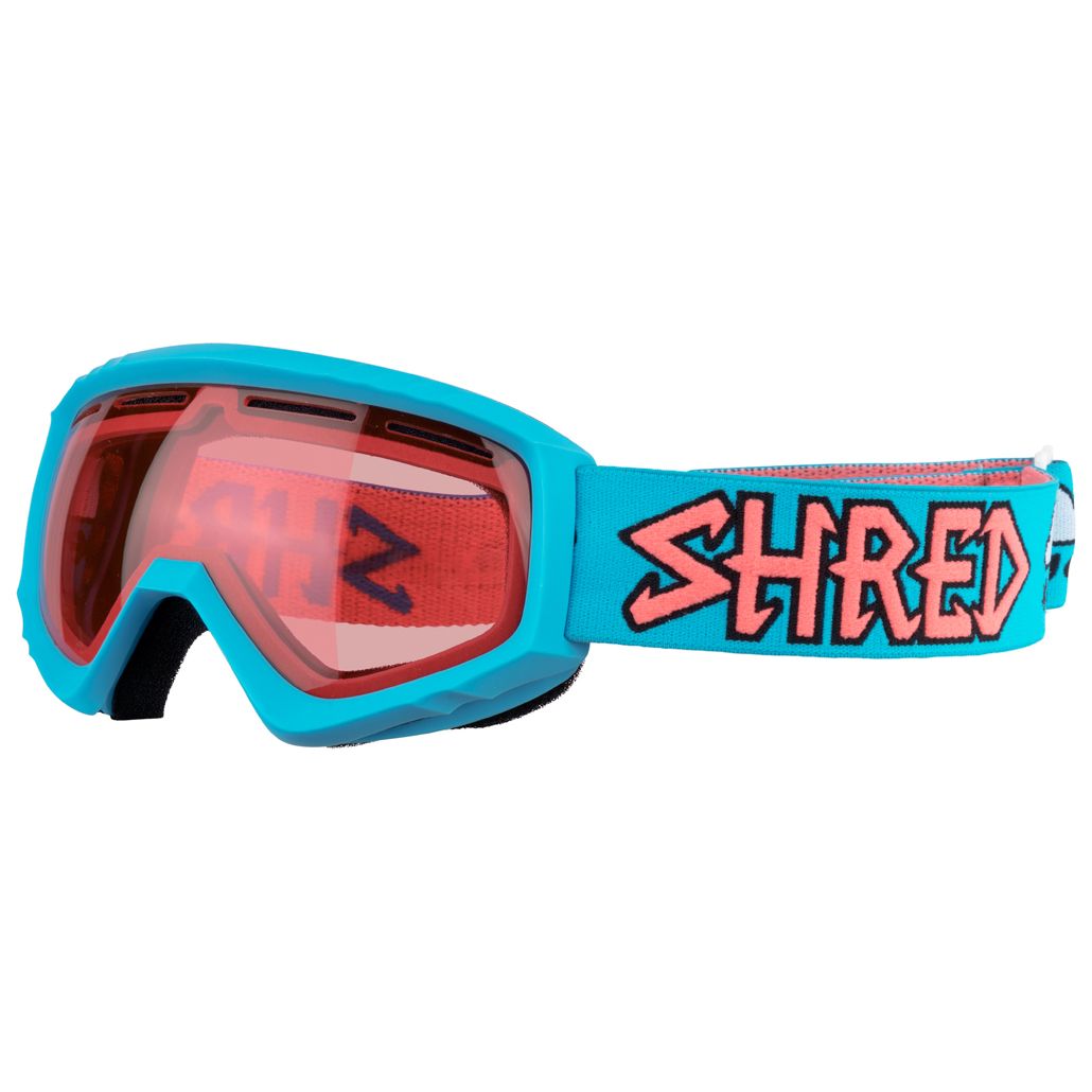 17b3b6039e6 SHRED Mini Air Blue Ruby Cat  S2 - Ski Goggles Kids