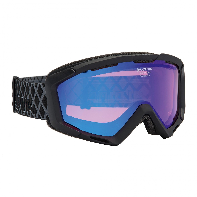 Alpina Panoma Quattroflex Mirror S Ski Goggles Free UK Delivery - Alpina goggles