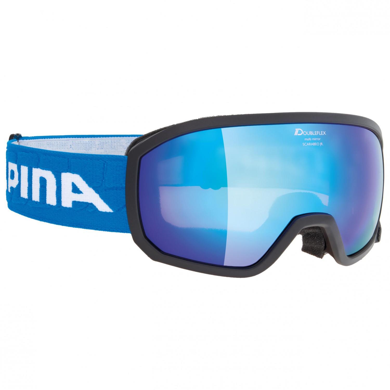 Alpina Scarabeo Junior Multimirror S Ski Goggles Kids Free EU - Alpina goggles