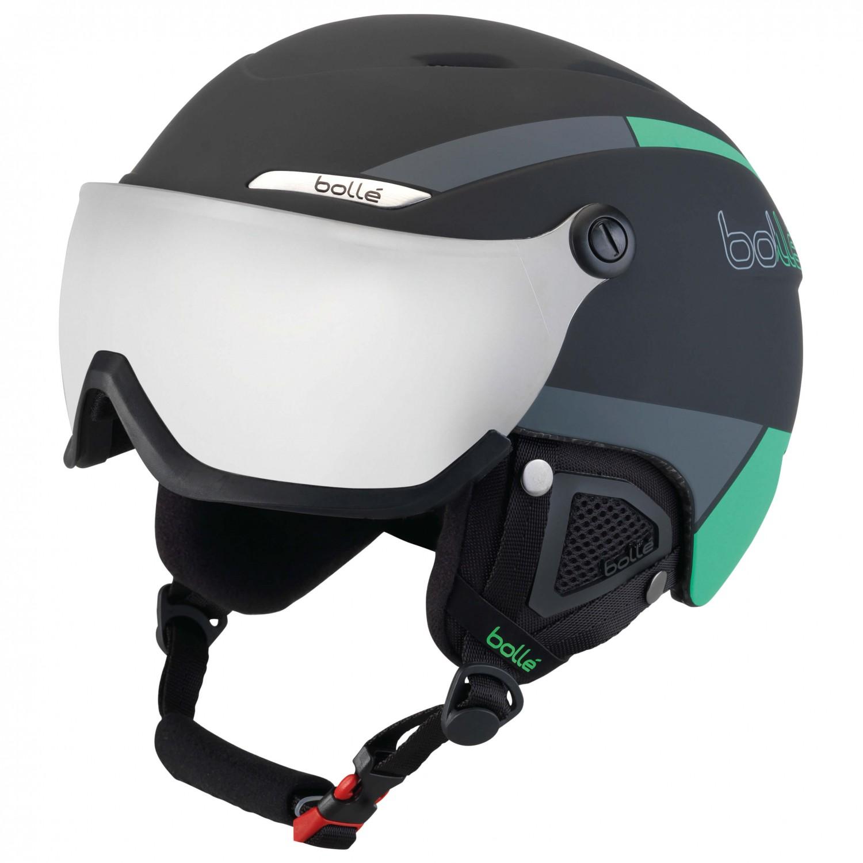 54ea86b166d6 Bollé - B-Yond Visor Silver Gun - Ski helmet ...