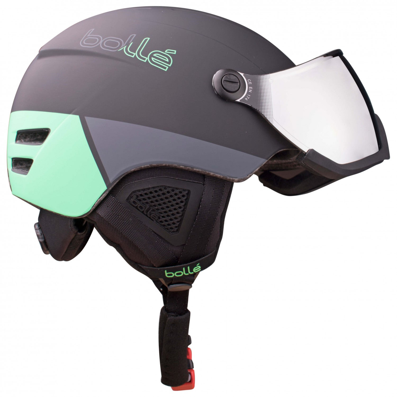 7c692f1385a1 ... Bollé - B-Yond Visor Silver Gun - Ski helmet ...