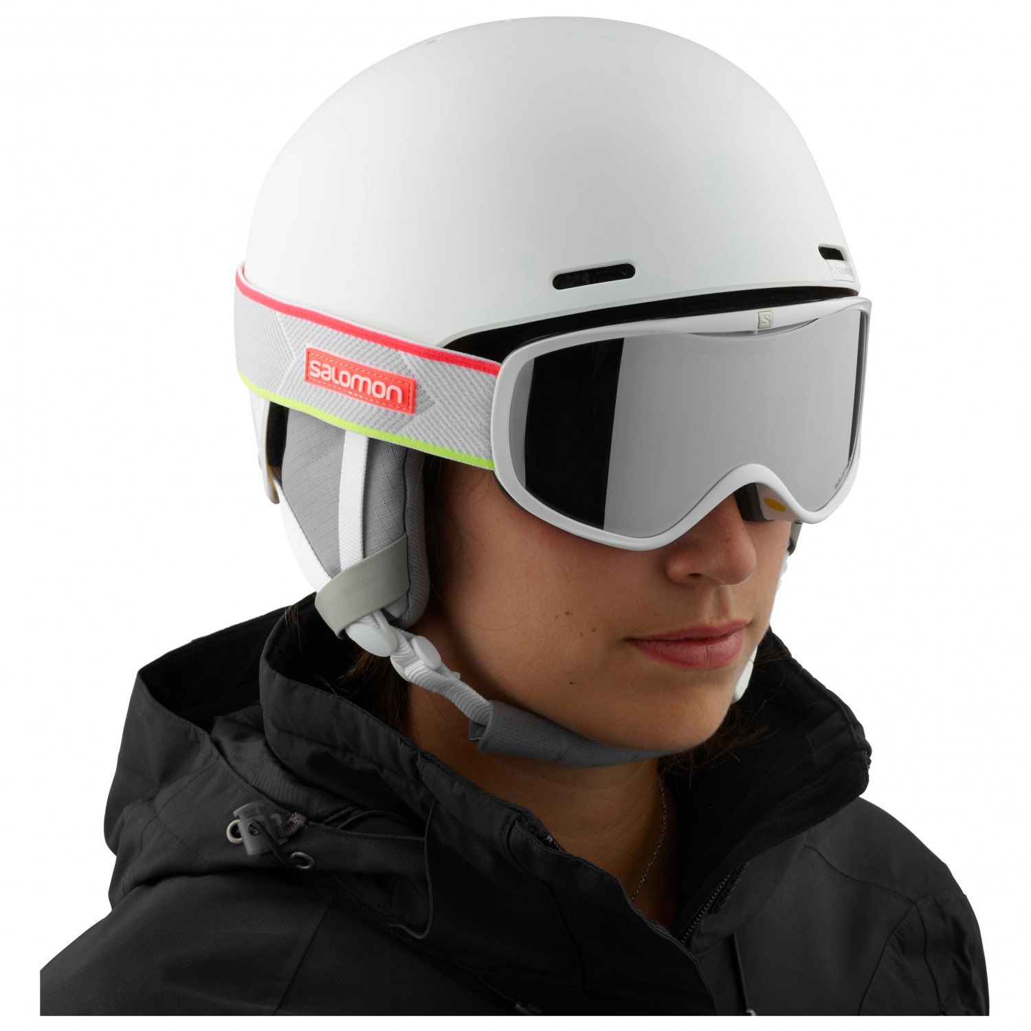 Salomon Women's Spell Skihelm White | S 53 56 cm jkd7k