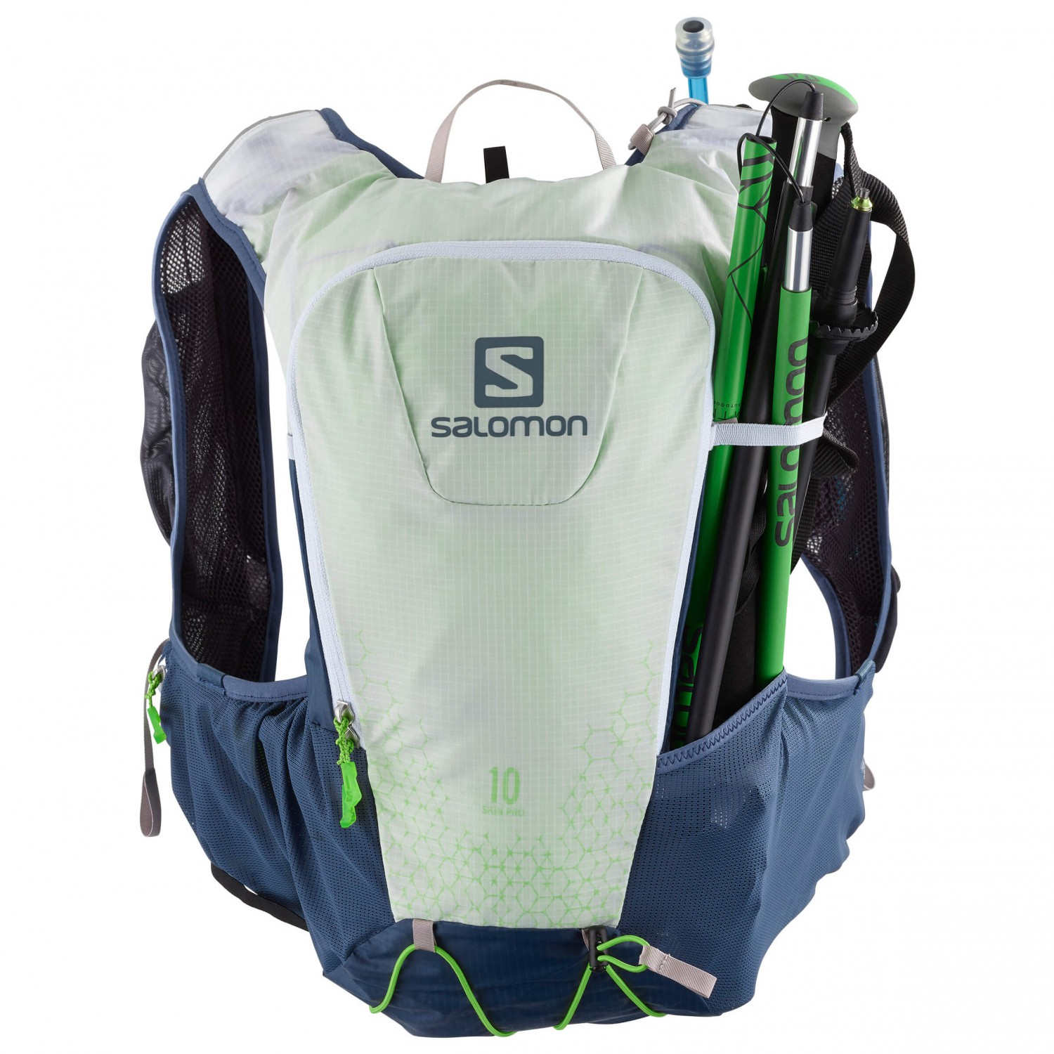 104fffa0 Salomon - Skin Pro 10 Set - Trail running backpack