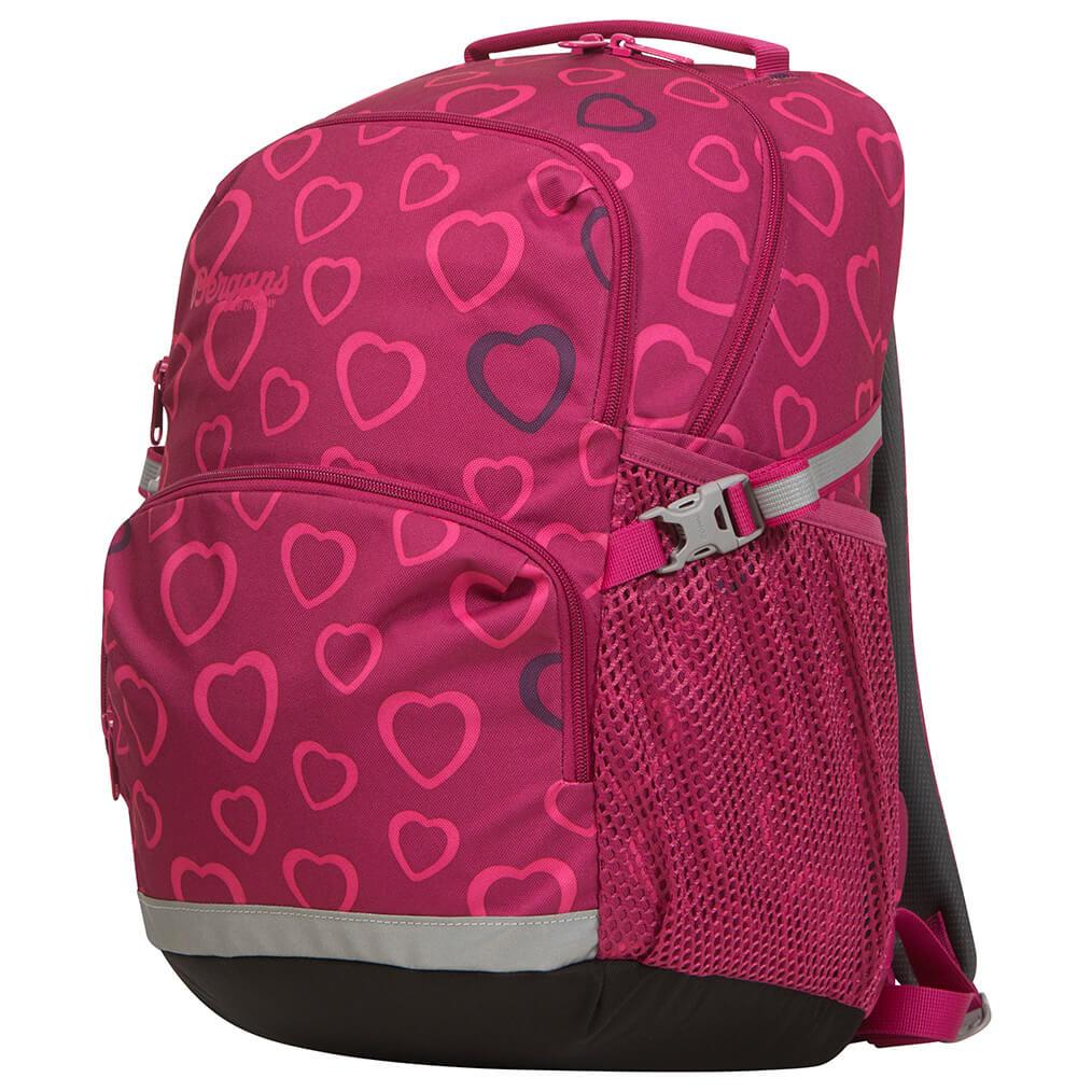 Bergans - Kid's 2Go 24 - Daypack - Cerise Heart   24 l