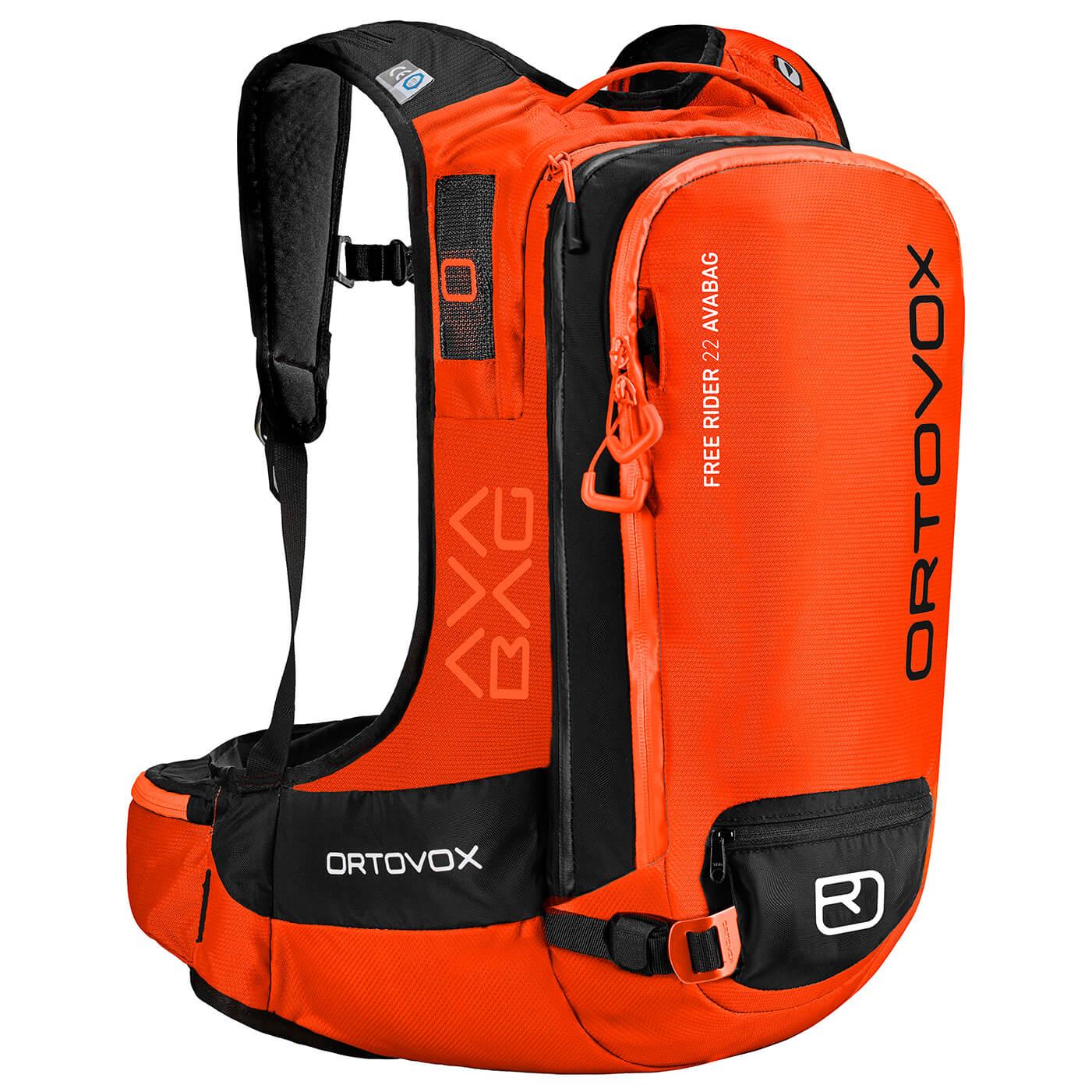 Ortovox Ski Backpack: Ortovox Free Rider 22 Avabag - Ski Touring Backpack