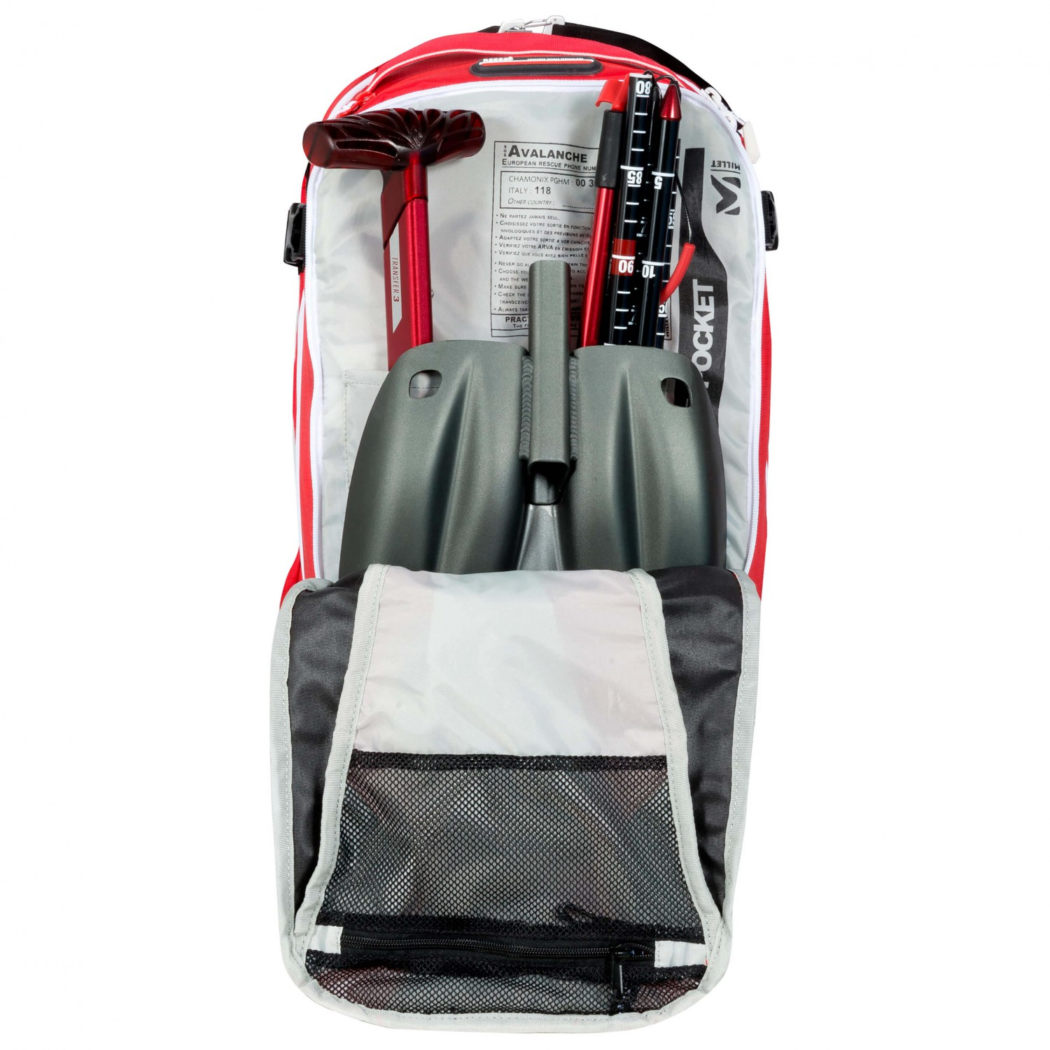 Ski Touring Backpack Size