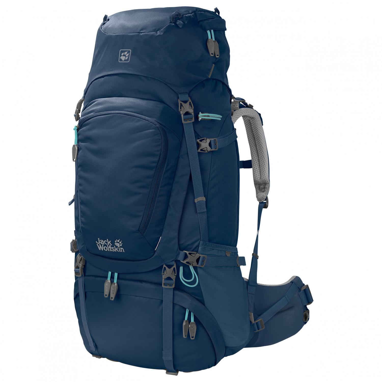 Jack Wolfskin Denali 60 Women Walking backpack Dark Sky | 60 l