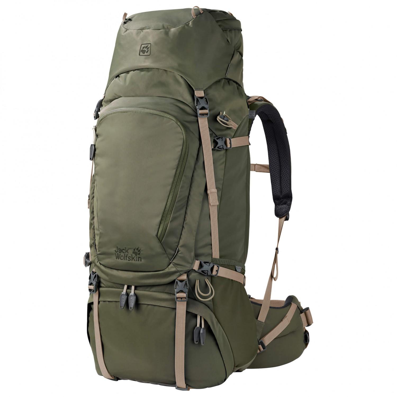 jack wolfskin denali 65 trekking backpack free uk delivery. Black Bedroom Furniture Sets. Home Design Ideas