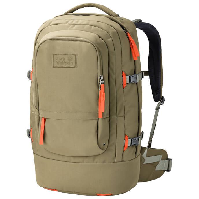 jack wolfskin railrider 40 pack travel backpack free uk delivery. Black Bedroom Furniture Sets. Home Design Ideas
