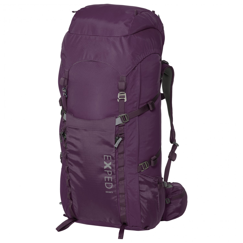 bd70f860d0c5 Exped - Women's Explore 60 - Walking backpack - Dark Violet | 60 l