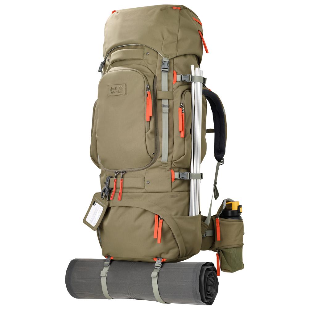 jack wolfskin hobo king 85 pack travel backpack free. Black Bedroom Furniture Sets. Home Design Ideas