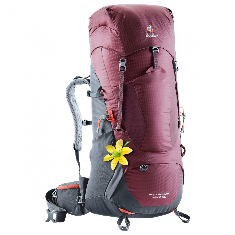 7135dc96958c5 Deuter Aircontact Lite 45 + 10 SL - Walking Backpack Women s