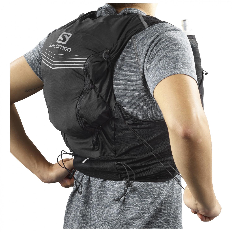 7376a1c37c Salomon - Advanced Skin 12 Set - Trail running backpack - Black   12 l - S