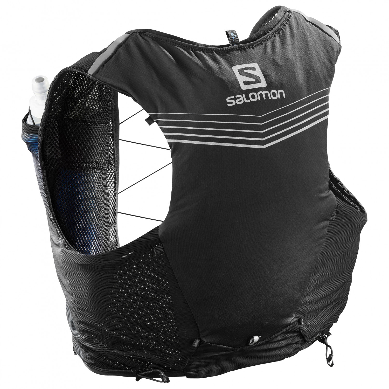 Salomon Advanced Skin 5 Set Trailrunningryggsäck Sulphur Spring Citronelle | 5 l L
